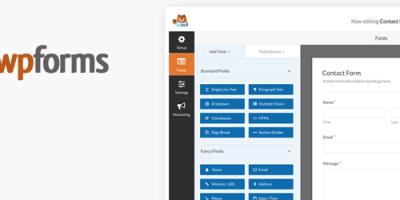 非常好用的联系表单生成器WordPress插件 WPForms