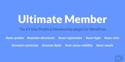 请尽快更新Ultimate Member插件,低于2.1.12版本存在安全漏洞