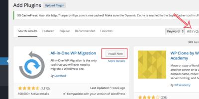 非常好用的备份及搬家WordPress插件All-in-One WP Migration,一键迁移你的WordPress网站