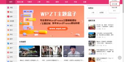 WordPress主题wp-blog主题支持在线投稿功能